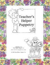 Teacher's Helper Puppetry for Christian Education Teachers-Simple Puppet Scripts