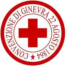 Croce Rossa Italiana - Adesivo-Decorazione auto moto casa veicoli in genere