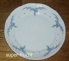 1 Kuchenteller 19 cm  Mitterteich Form 2000 blaue Blumenranke