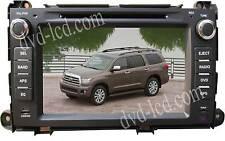 "2014 Toyota Sienna Navigation Radio car DVD player GPS Head units Ipod 8"" LCD"