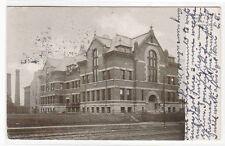 Nebraska Hall University Nebraska Lincoln NE 1909 postcard