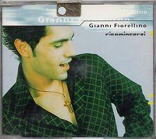 GIANNI FIORELLINO  raro CD SINGLE  3 TRACCE Ricomincerei + 2  MADE in ITALY