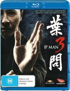 Ip Man 3  - BLU-RAY - NEW Region B