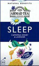 "Ahmad Herbal Tea Chamomile, Honey & Lavender ""Sleep"" Infusion - 1 Case (6 boxes"