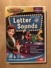 Rock N Learn Common Core - Letter Sounds Ages 4-7 DVD
