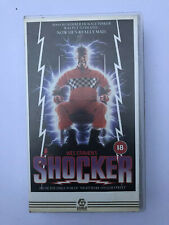 Wes Craven's Shocker VHS
