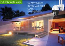 UK 2MP full HD CCTV WIFI IP Camera PTZ auto Track moving object 24hrs vedio/audi