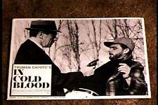 IN COLD BLOOD 1968 LOBBY CARD #6 CLASSIC TRUMAN CAPOTE