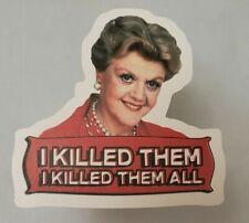 Murder She Wrote Angela Lansbury Sticker decal car laptop
