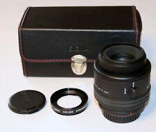 Sigma AF 90mm F2.8 Macro Lens with 1:1 adaptor - Minolta Mount