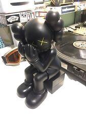 Kaws Original Fake 'Passing Through' Black Companion Replica Figure 37cm No Box