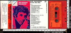 BURT BACHARACH, PLAYS HIS HITS (1974, MCA CORAL, MUSICASSETTA K7, STEREO 7)