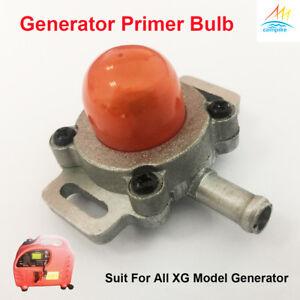 Premium Primer Bulb ball Fuel Pump For XG-SF3200 F6200Ri Inverter Generator
