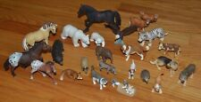 SCHLEICH Mixed Lot of 23 Animals FARM, ZOO, WILD, DOMESTIC
