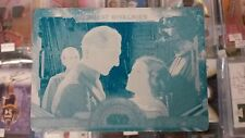 2016 Topps Star Wars Masterwork TARKIN LEIA Carrie Fisher C Printing Plate 1/1