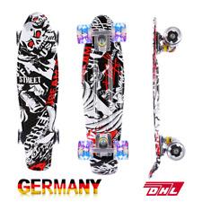 Skateboard Pennyboard Komplett Funboard Longboard Kickboard Cruiser LED ABEC-7