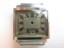 Supera 40's N.O.S. vintage men's watch case & dial ~ mod III