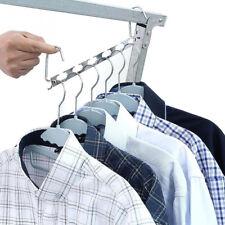 Porte Vêtements Bar Cintre Placard  Rangement Penderie Armoire Portant