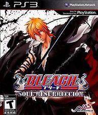 Bleach Soul Resurrección Resurreccion Resurrection (ps3 PlayStation 3) Disc only