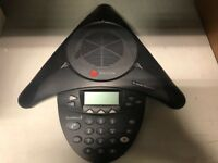 Polycom Soundstation 2 Conference phone - working  NO ACCESSORIES