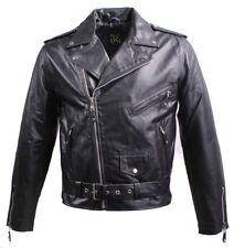 RICANO BRANDO Skórzana kurtka męska w czerni, rozmiar L