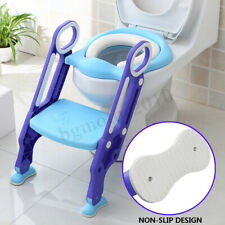 Costway 3 in 1 Baby Potty Training Toilet Chair Seat Step Ladder Trainer Toddler