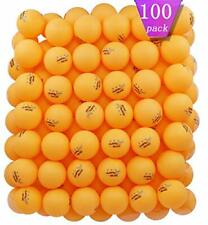 MAPOL 100 Counts 3-Star Orange Practice Ping Pong Balls Advanced Table Tennis