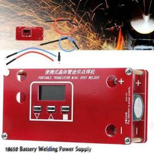 Portable DIY Mini Spot Welder Machine Battery Different Supply NEW Welding M9H4