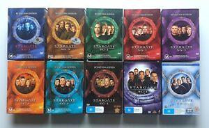 Stargate SG 1 - Seasons 1-10 Complete Series Box Sets DVD Region 4 PAL