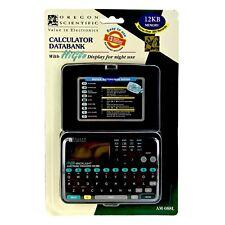 Calculator Databank Electronic Organiser AM-088L High Glow Display Night Use NEW