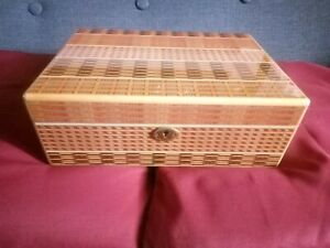 Wooden Cigar Humidor Box