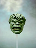 "ML303 Hulk Face-Off clenched teeth Custom Cast head use with 6"" Marvel Legends"