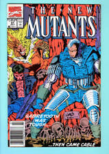 NEW MUTANTS #91, VF/NM, Cable, Sabretooth, Liefeld, 1983 1990 more in store, upc