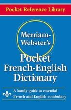 Merriam-'s Pocket French-English Dictionary [Pocket Reference Library] [English