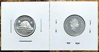 Canada 2001 Silver Proof Gem UNC Five Cent Piece!!