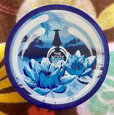 NEW THE BODY SHOP FIJIAN WATER LOTUS BODY BUTTER CREAM ORIGINAL 6.7 OZ