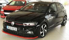 Rieger CUP Spoilerlippe für VW Polo AW GTI R-Line Frontspoiler Spoilerschwert