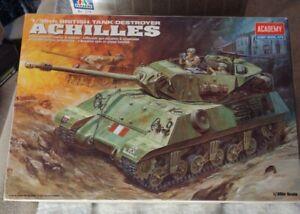 Academy 1:35 British Tank Destroyer Achilles Plastic Model Kit #1392