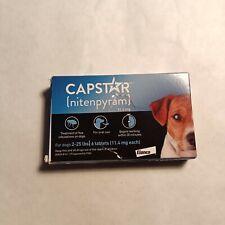 Capstar 2-25 Lb Dog Flea Treatment - 6 Count, New Version Free Ship damaged box
