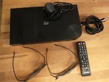 Samsung Blu-Ray Disc Player BD-F5500 3D With Remote and Glasses VGC