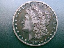 1892-S MORGAN SILVER$ DOLLAR OVER 124 YEARS OLD / PART OF UNITED STATES HISTORY