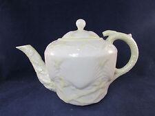 Belleek Ireland NEW SHELL YELLOW Teapot