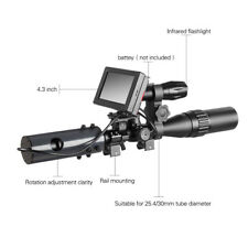 Fire Wolf IR Flashlight + LED Monitor Night Vision System fit for Scopes