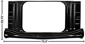 1963-64 Impala, BelAir & Biscayne Trunk Floor Outer Panel New