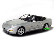 PORSCHE 968 Cabriolet 1991-1995 argento metallizzato/Minichamps 1:43