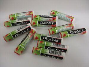 12 Chapstick Brand Lip Care Watermelon Lime Lip Balm Stick Sealed GM 2217