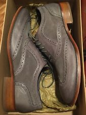 Cole Haan Air Colton Wing Tip Gray Dress Shoes Size 11