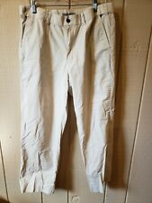 Geoffrey Beene Men's Lightweight Khakis W34 Extending Waistband
