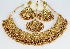 Indian Designer Wedding Fashion Jewelry Women Necklace Set Earring Tikka New