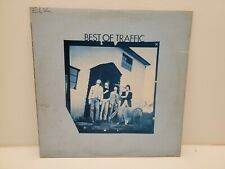 BEST OF TRAFFIC  LP 1971 ILPS9112 ISLAND  PSYCH STEVE WINWOOD